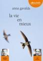 Couverture La Vie en mieux Editions Audiolib 2014