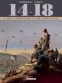 Couverture 14-18, tome 09 : Sur la terre comme au ciel (juillet 1918) Editions Delcourt (Histoire & histoires) 2018