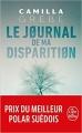 Couverture Le journal de ma disparition Editions Le Livre de Poche (Thriller) 2019