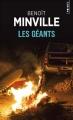 Couverture Les géants Editions Points (Policier) 2018