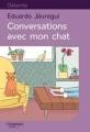 Couverture Conversations avec mon chat Editions Feryane (Gros Caracteres) 2017