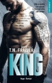 Couverture Kingdom, tome 1 : King Editions Hugo & cie (New romance) 2018