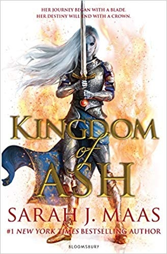 Couverture Keleana, tome 7 (Throne of Glass, book 7 : Kingdom of Ash)