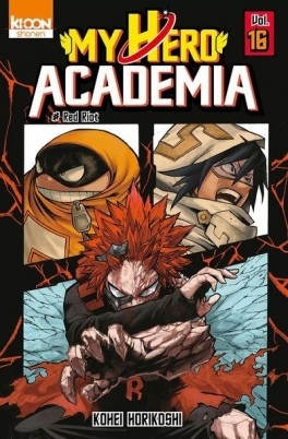 Couverture My Hero Academia, tome 16 : Red Riot