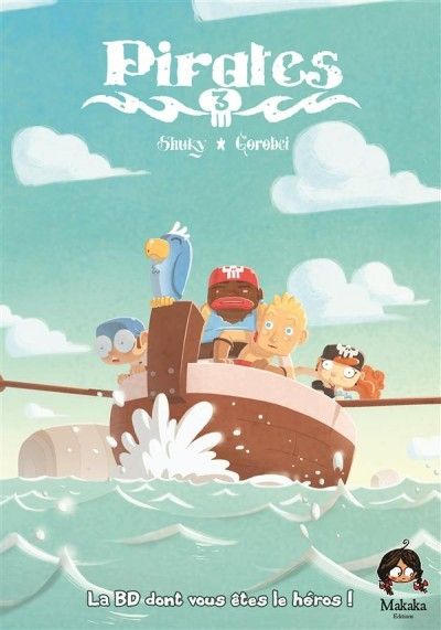 Couverture Pirates (BD), tome 3