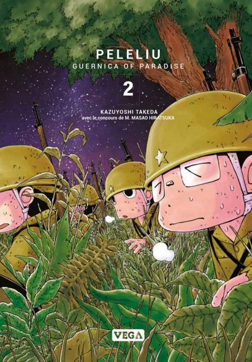 Couverture Peleliu : Guernica of Paradise, tome 2