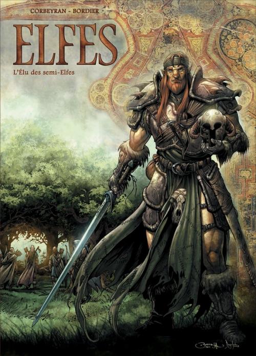 Couverture Elfes, tome 04 : L'élu des semi-elfes
