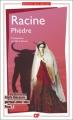 Couverture Phèdre Editions Garnier Flammarion 2017