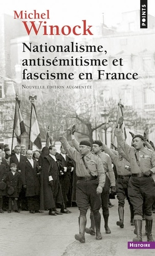 Couverture Nationalisme, antisémitisme et fascisme en France