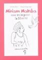 Couverture Miriam Makeba, une voix pour la liberté Editions A dos d'âne (Des graines et des guides) 2009