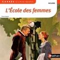 Couverture L'Ecole des femmes Editions Nathan (Carrés classiques) 2013