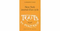 Couverture New York, journal d'un cycle Editions Mercure de France (Traits et Portraits) 2009