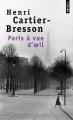 Couverture Paris à vue d'oeil Editions Points 2013