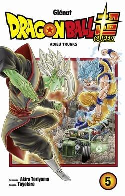 Couverture Dragon Ball Super, tome 5 : Adieu Trunks