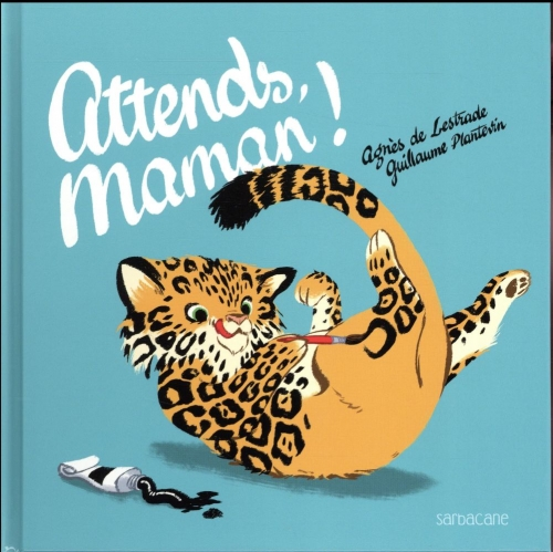 Couverture Attends maman !
