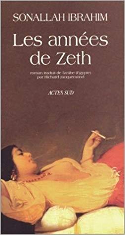Couverture Les années de Zeth