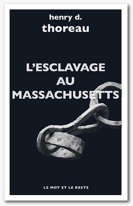 Couverture L'esclavage au Massachusetts