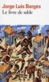 Couverture Le livre de sable Editions Folio  2017