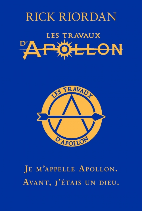Couverture Les travaux d'Apollon, tome 1 : L'oracle caché
