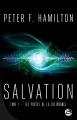 Couverture Salvation, tome 1 : Les Portes de la délivrance Editions Bragelonne 2018