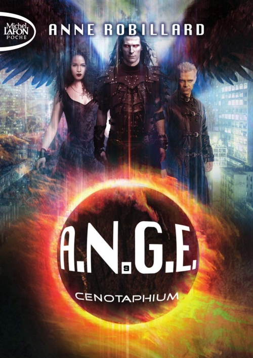 Couverture A.N.G.E., tome 09 : Cenotaphium