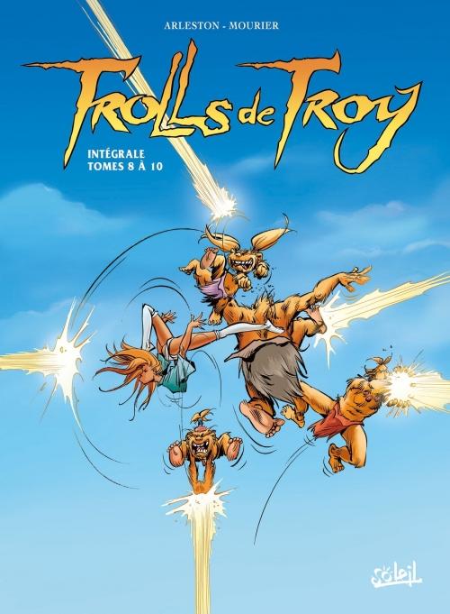 Couverture Trolls de Troy, intégrale, tomes 08 à 10