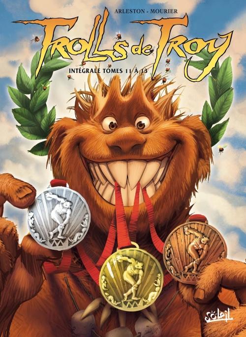 Couverture Trolls de Troy, intégrale, tomes 11 à 13