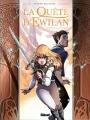 Couverture La quête d'Ewilan (BD), tome 6 : Merwyn Ril'Avalon Editions Glénat 2018