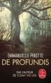 Couverture De profundis Editions Le Livre de Poche 2018