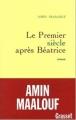 Couverture Le Premier Siècle après Béatrice Editions Grasset 1992
