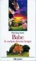 Couverture Babe, le cochon devenu berger Editions Folio  (Junior) 1996