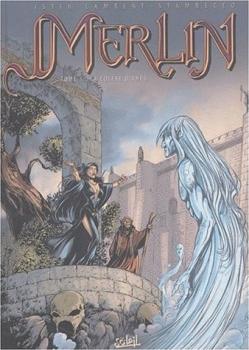 Couverture Merlin, tome 01 : La colère d'Ahès