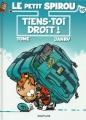 Couverture Le petit Spirou, tome 15 : Tiens-toi droit! Editions Dupuis 2010
