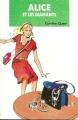 Couverture Alice et les diamants Editions Hachette (Bibliothèque verte) 1992