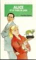 Couverture Alice et le tigre de jade Editions Hachette (Bibliothèque verte) 1995