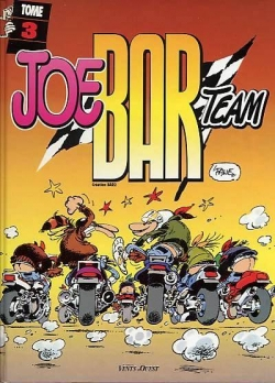 Couverture Joe Bar Team, tome 3
