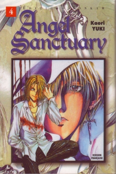 Couverture Angel Sanctuary, tome 04