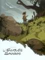 Couverture L'envolée sauvage, tome 1 : La dame blanche Editions Bamboo (Angle de vue) 2006