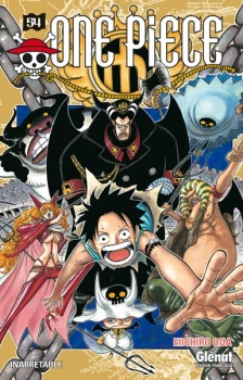 Couverture One Piece, tome 54 : Inarrêtable