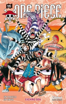 Couverture One Piece, tome 55 : Un travelo en enfer