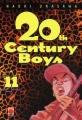 Couverture 20th Century Boys, tome 11 Editions Panini (Manga - Seinen) 2004