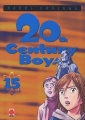 Couverture 20th Century Boys, tome 15 Editions Panini (Manga - Seinen) 2005