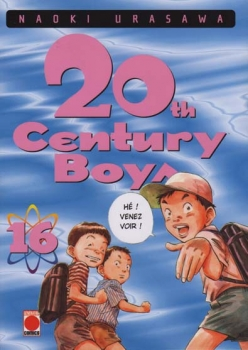 Couverture 20th Century Boys, tome 16