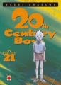 Couverture 20th Century Boys, tome 21 Editions Panini 2007