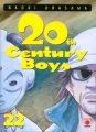 Couverture 20th Century Boys, tome 22 Editions Panini 2007