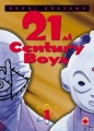 Couverture 21st Century Boys, tome 1 Editions Panini 2008