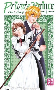 Couverture Private Prince, tome 4