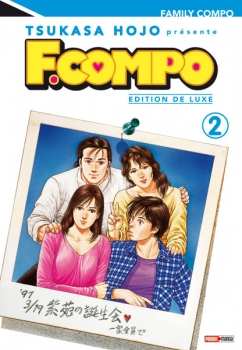 Couverture Family Compo, deluxe, tome 02