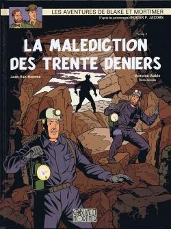 Couverture Blake et Mortimer, tome 20 : La Malédiction des trente deniers, partie 2 : La Porte d'Orphée