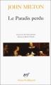 Couverture Le Paradis perdu Editions Gallimard  (Poésie) 1995